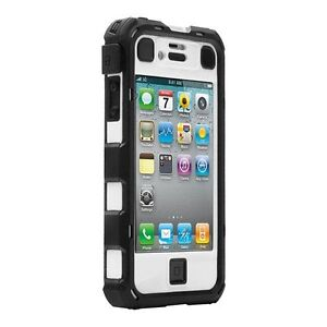 Ballistic Hard Core HC Series Built-in Case Cover For iPhone 4 4G 4S w/ Holster