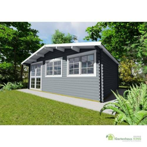 40 Mm Gartenhaus Holzhaus Holz Norwegen 53 600x400 Blockhaus