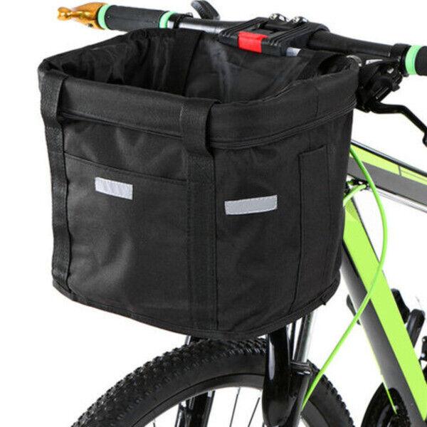 Bicycle Front Basket Waterproof Bike Canvas Basket ...