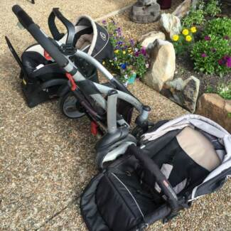 STEELCRAFT CRUISER CAPSULE & PRAM TRAVEL SYSTEM. EXCL CONDT.
