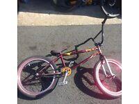 CUSTOM BMX Federal Lacey frame.