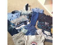 Baby boys co-ordinated clothing bundle, 9-12 months, all Ted baker, next, converse