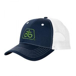 b00360c49c2 PIONEER SEED  NAVY BLUE   WHITE MESH  Trademark Logo CAP HAT  BRAND NEW