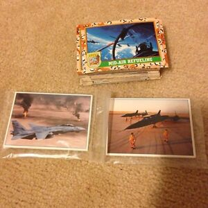 Desert Storm 90's collectable cards Cambridge Kitchener Area image 1