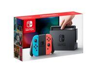Nintendo Switch Neon. Brand new, Never opened