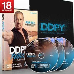 DDP Yoga Diamond Dallas Page Rebuild Fast shipping!