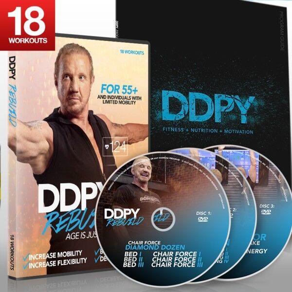 DDP Yoga Diamond Dallas Page Rebuild Fast shipping! LN