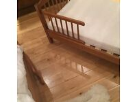 Junior bed in good condition