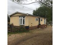 Park home chalet 3 bedroom
