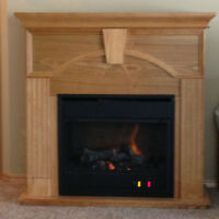 PRICE REDUCED - Electric Fireplace/Heater