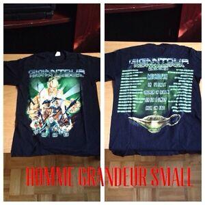 Tshirt metal SMALL mayhem,dark funeral, gigantour West Island Greater Montréal image 3