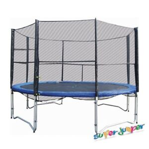 12' Trampoline with Safety Enclosure by Super Jumper