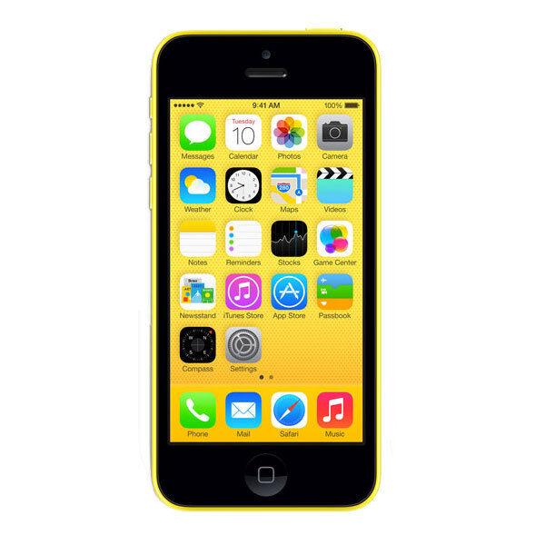 Apple iPhone 5C 16GB Factory Unlocked 4G LTE Smartphone  Very Good