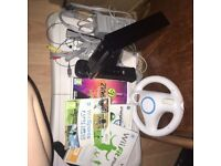 Wii console + other wii items