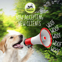 Limited openings for new on & off leash clients
