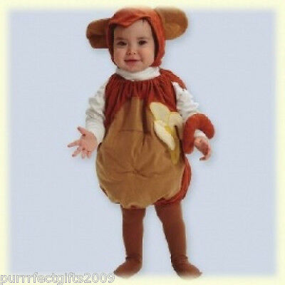 MULLINS SQUARE MONKEY COSTUME FOR INFANTS - Monkey Costume For Baby