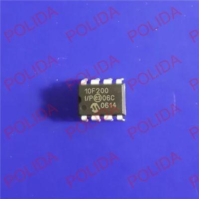 5pcs Mcu Ic Microchip Dip-8 Pic10f200-ip 10f200-ip 10f200