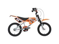"Halfords MXR450 Childs Bicycle, BMX bike, 18"" inch wheels Brand New!"