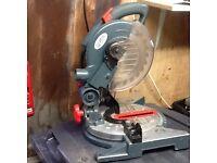 Pro 1200w compound mitre chop saw