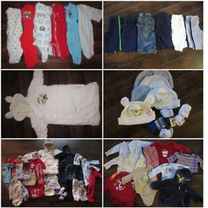 0-3 month Fall/Winter clothing lot Summerside OR Charlottetown