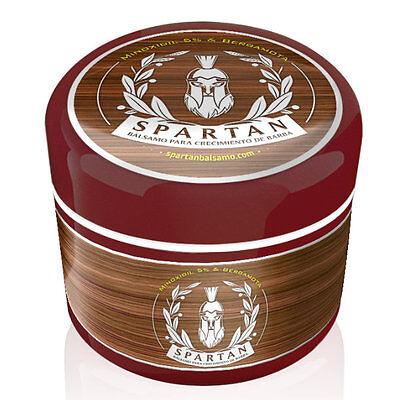 Spartan Balsamo Crecimiento De Barba Y Bigote   Minoxidil   Bergamota