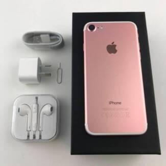Apple Iphone 7 Plus 128gb Black Gold Rose Gold Iphone