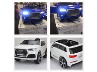 Audi Q7 Facelift Model Ride-On Parental Remote Control Self Drive