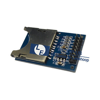 New SD Card Module Slot Socket Reader Adapter Read And Write for Arduino ARM MCU