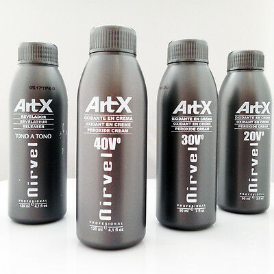 Professional Hydrogen Peroxide Cream: Hair Colourants & Bleach 10,20,30 & 40 VOL