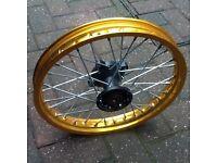 Pit bike 14 front wheel rim