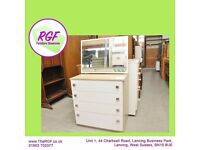 SALE NOW ON!! Dressing Table With 4 Drawers & Mirror - Can Deliver For £19