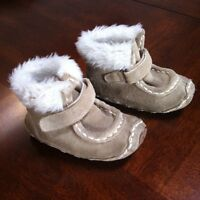 Baby's size 4 genuine suede boots