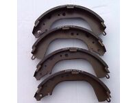 Cab star rear brake shoes