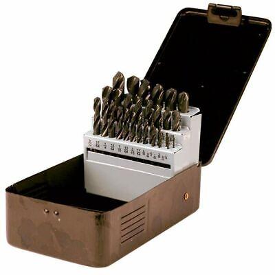 Ttc A61 116- 12 X 64ths 29 Pc Hss Rh Screw Machine Stub Drill Set
