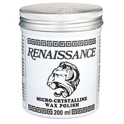 RENAISSANCE MICRO CRYSTALLINE WAX POLISH 200ml