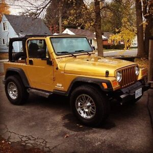 2003 Jeep Wrangler TJ as is