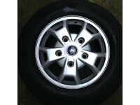 "4 X ford transit alloys 2015 - 16 inch """