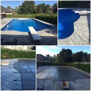 Safety Cover  / Measure / Install / Pool Closing