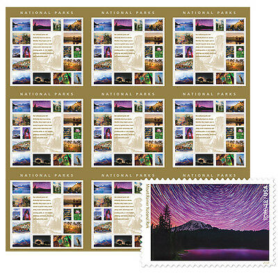 USPS New National Parks Press Sheet with die cuts