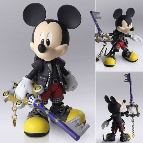 Kingdom Hearts III King Mickey Bring Art action figure Square Enix (authentic)