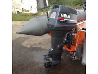 Yamaha 90hp long shaft outboard motor (mid 90s model )
