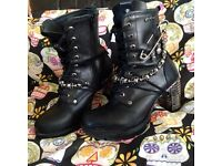 Official NewRock Boots size 5