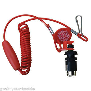 Emergency-Cut-Out-Kill-Switch-Seachoice-Seadoo-boat-Jet-Ski-PWC-Ignition-NEW
