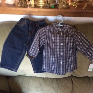 Kenneth Cole reaction 2piece boys set