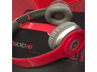 Beats Solo HD Red special edition headphones