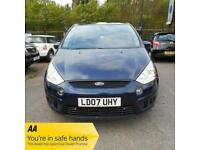 2007 Ford S-MAX 1.8TDCI TITANIUM 6 SPEED 125PS In Met Blue - 12 Mths MOT - 3 Mth
