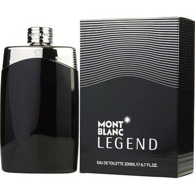 Mont Blanc Legend Eau De Toilette 200ml / 6.7oz Spray Men (Mont Blanc Legend Eau De Toilette Spray)