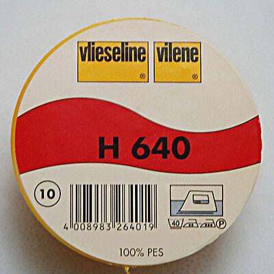 0,5m aufbügelbares Volumenvlies Freudenberg H640 H 640 Vlieseline 90cm br.