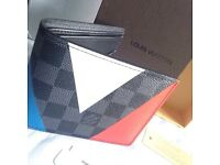 Eye catchy Louis Vuitton wallet lv in epi leather colour edition genuine designer