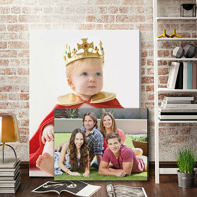 Your Photo Picture on Canvas Print A0 A1 A2 A3 A4 A5 Box Framed Ready to Hang